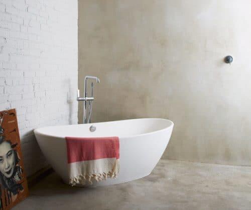 Bare-Bones Bathroom
