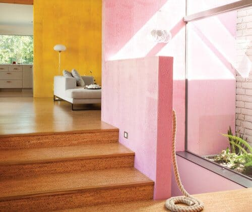 Breaking Apart a Room with Bright Colors
