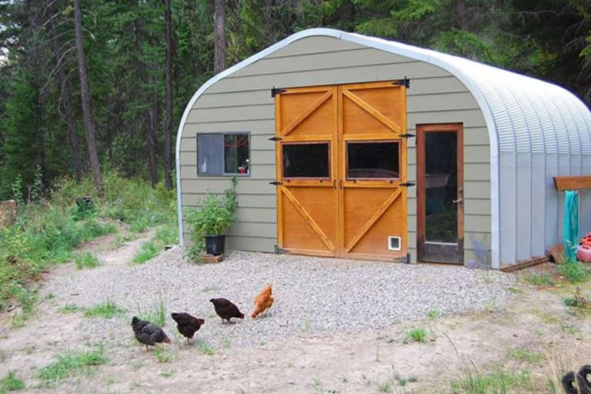 Building Quonset Hut Homes