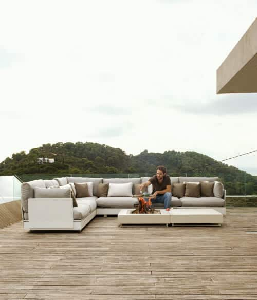 Captivating Comfort Upon a Picturesque Terrace