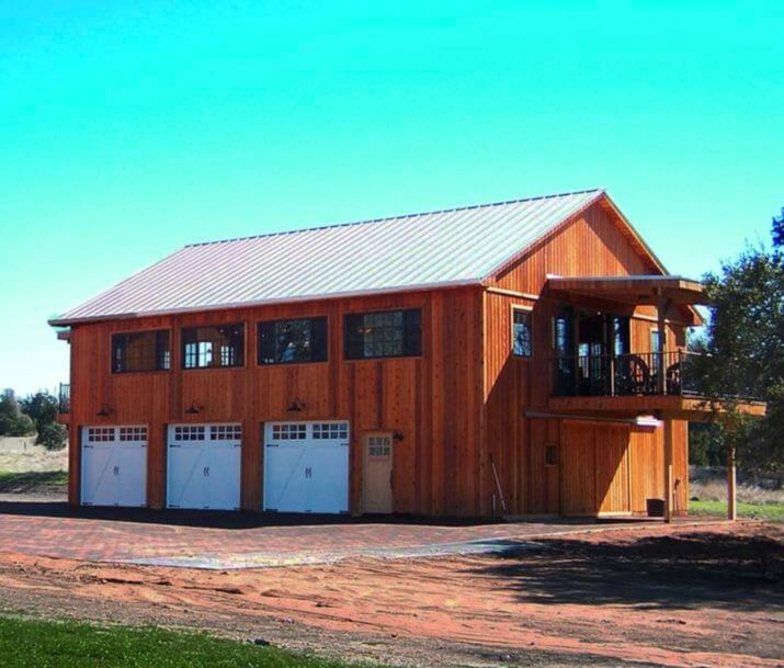 Pole Barn Home Floor Plans