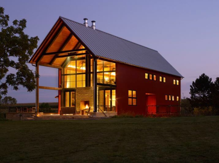 Building a Pole Barn Home - Kits, Cost, Floor Plans, Designs