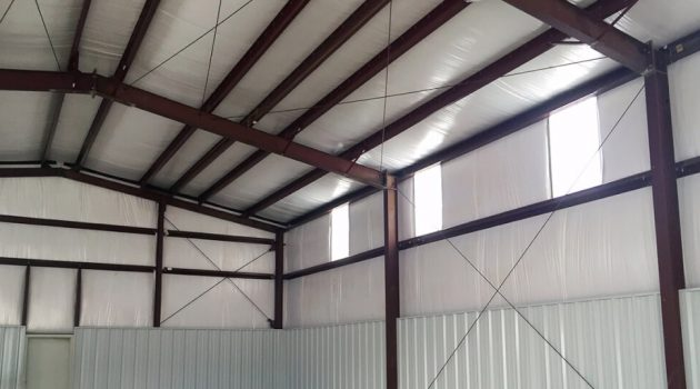 types of metal building insulation and prices