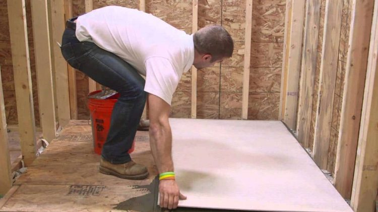 How to Install Cement Board