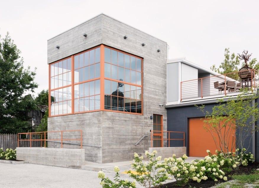 Board Formed Concrete Walls Ideas