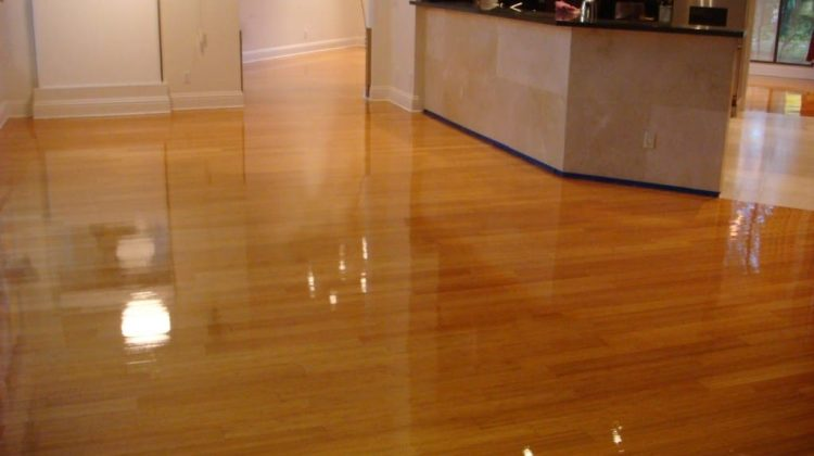 how to shine laminate floors