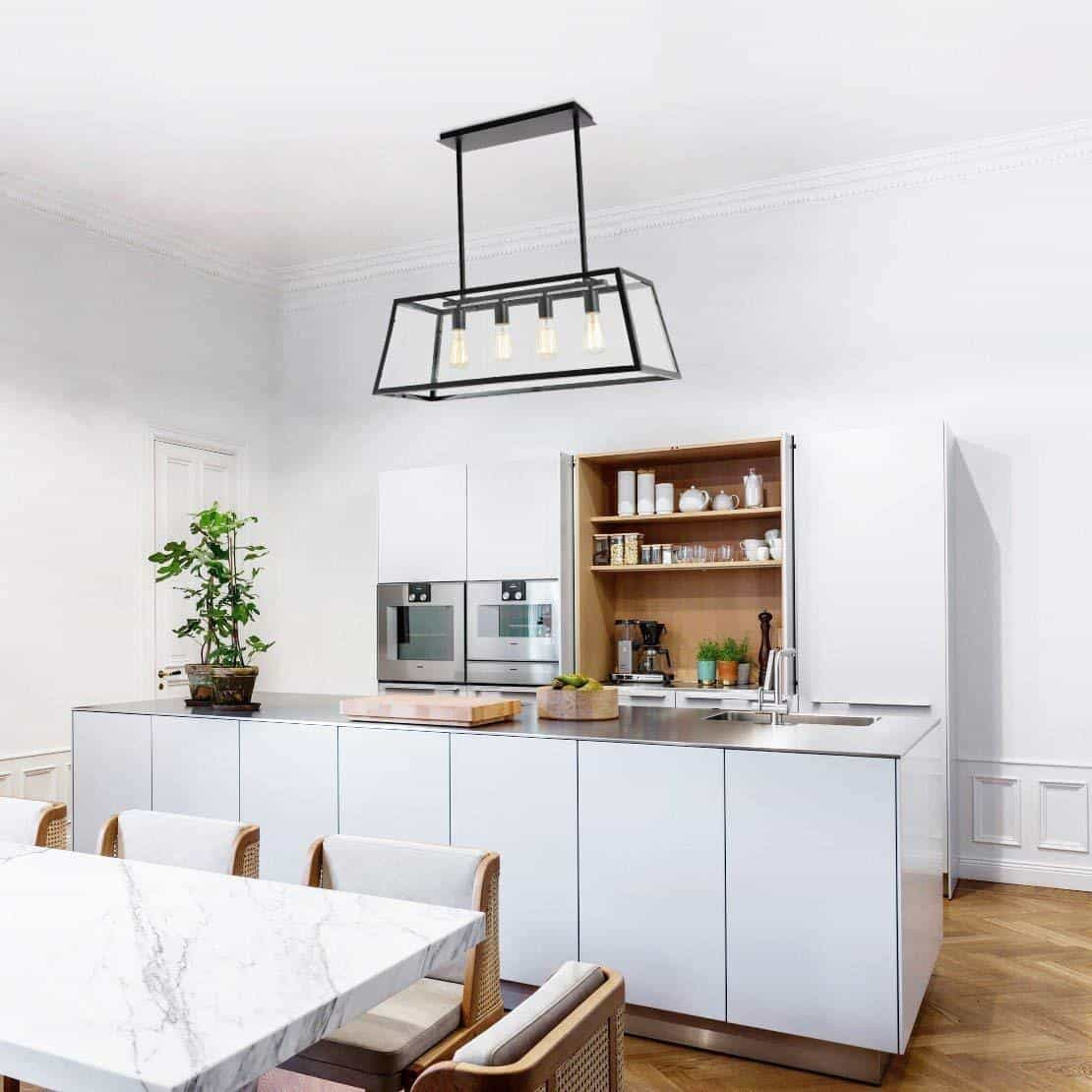 Kitchen Lighting: 17 Beautiful And Modern Kitchen Island Lighting Inspirations