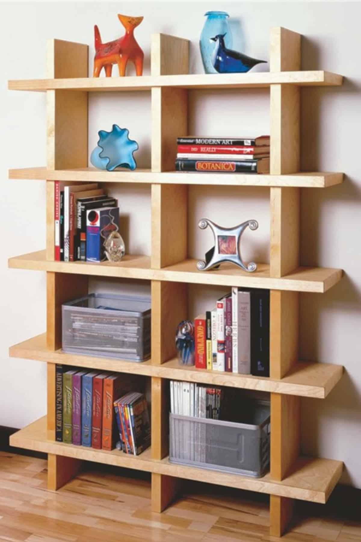 Contemporary-style Bookshelf