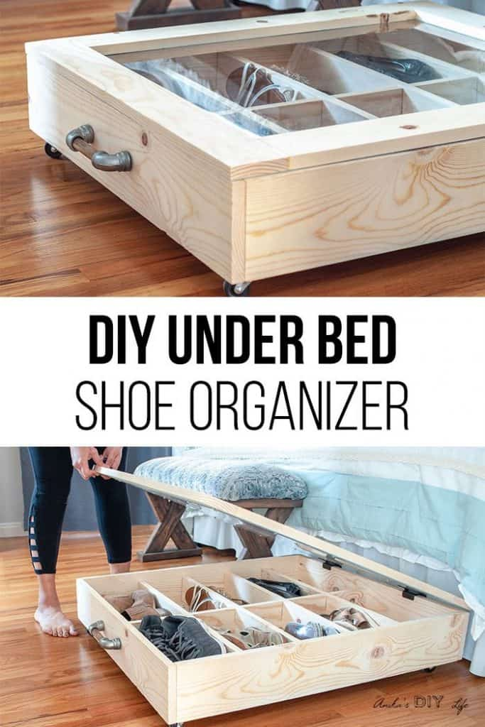 20 DIY Shoe Storage Ideas for Weekend Craft Projects
