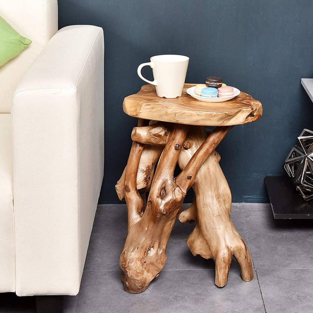 Natural Tree Stump Table