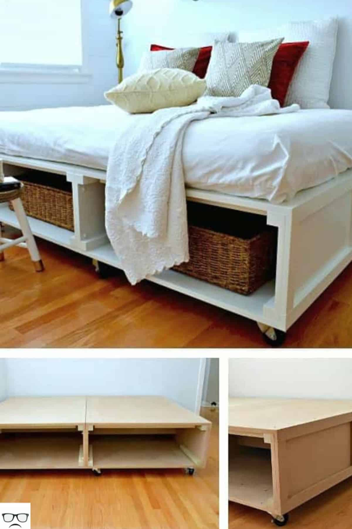 Hollow Platform Bed (No Headboard)