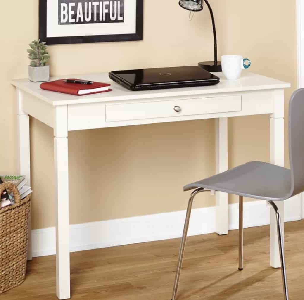 The Beautiful White Reynoldsville Desk