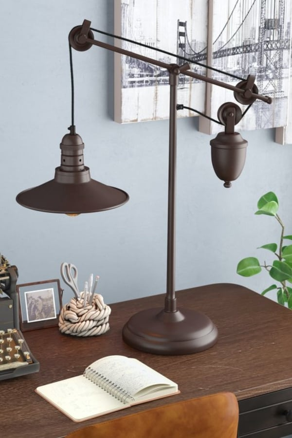 Buckskin Desk Lamp