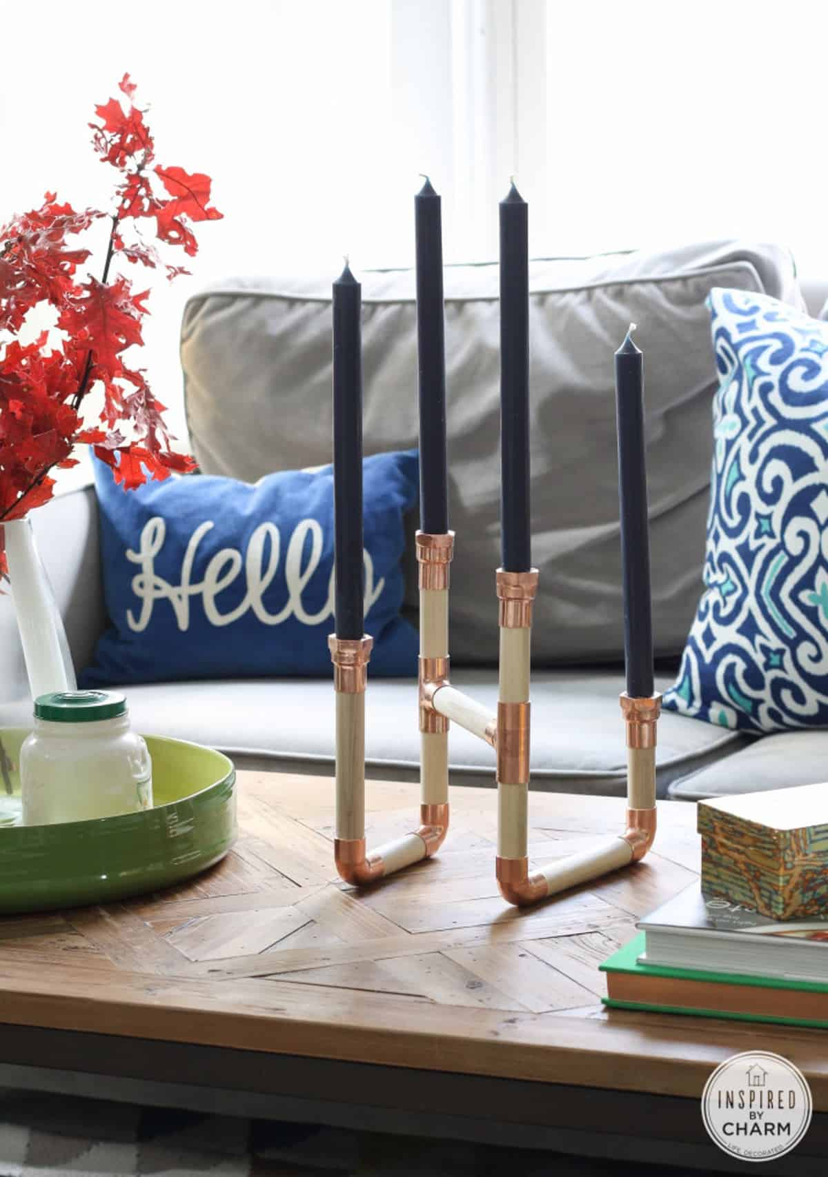 The DIY Stylish Candle Holder