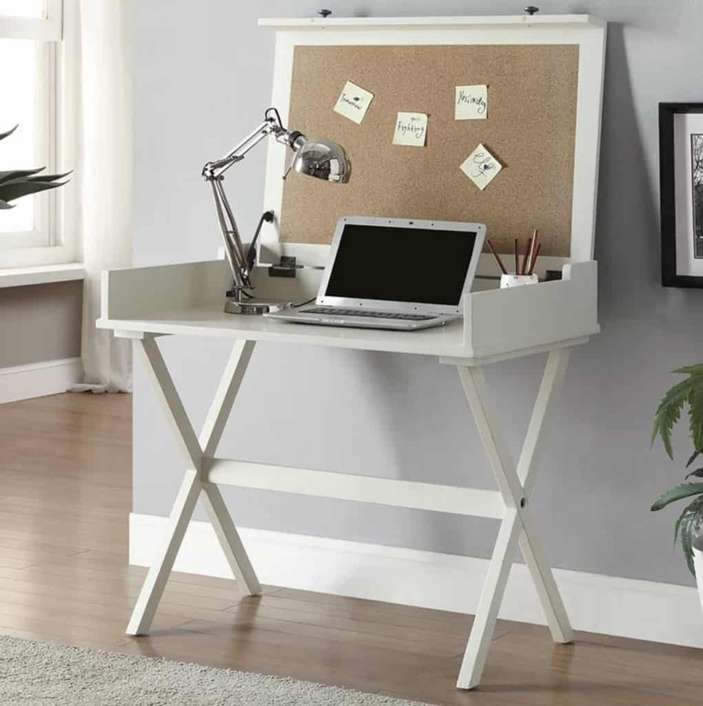 Kennedy Flip Top Desk for Extra Storage