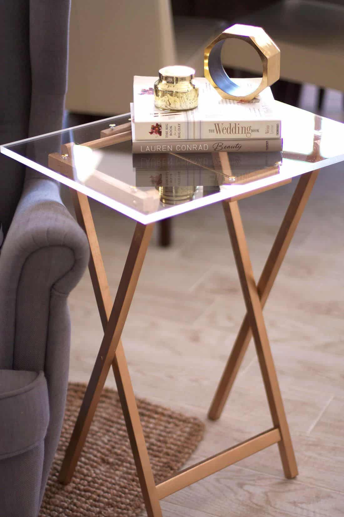 The Simple TV Tray Side Table