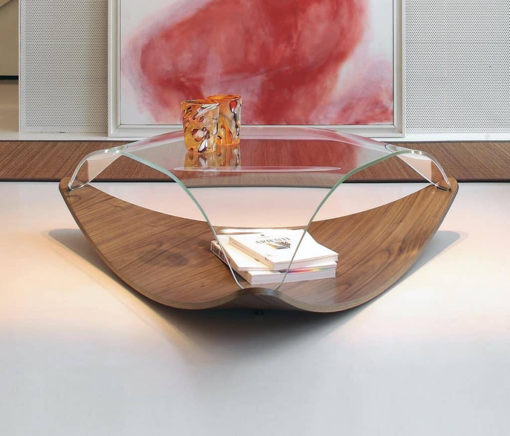Artsy Triangle Coffee Table