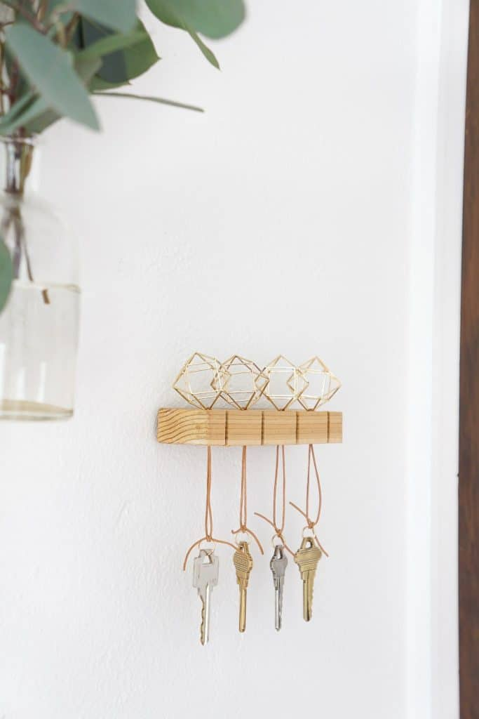 Elegant, Contemporary Key Holder