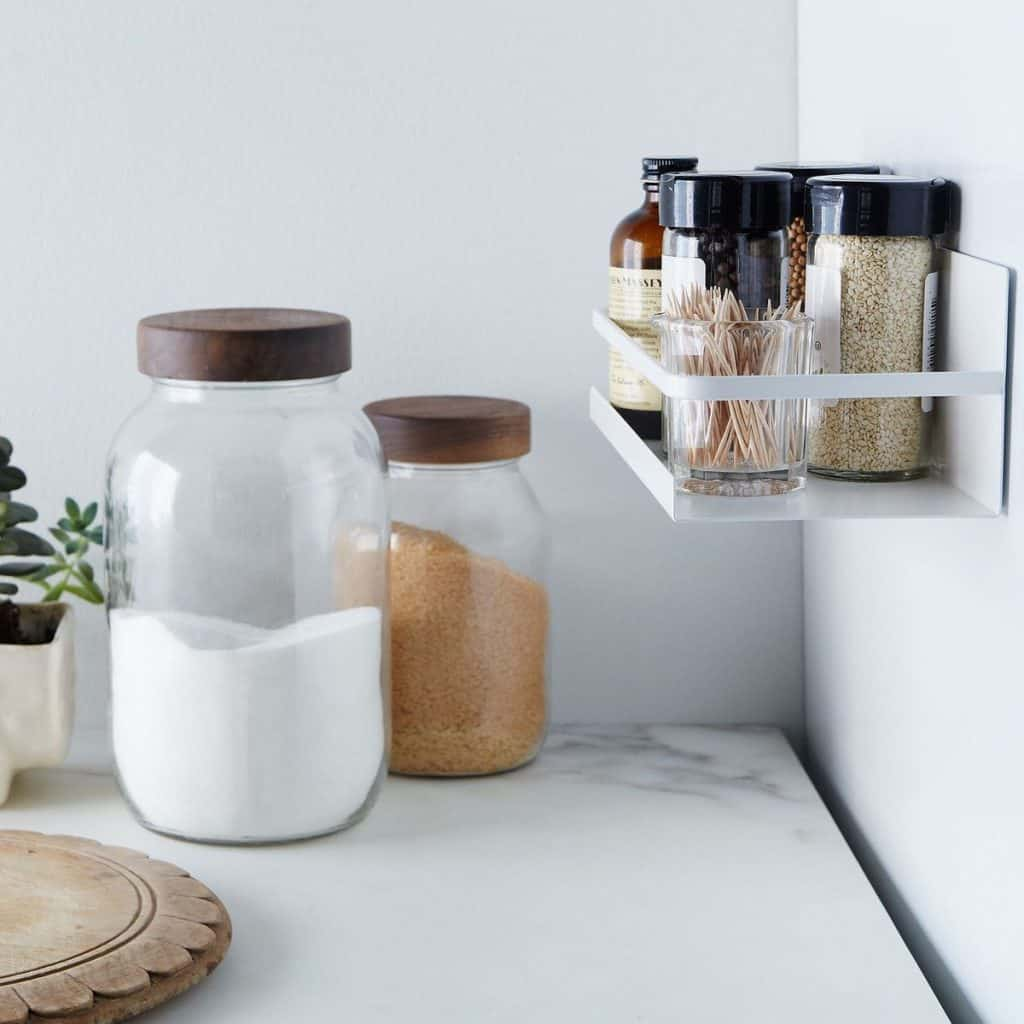 Fridge Magnetic Spice Rack