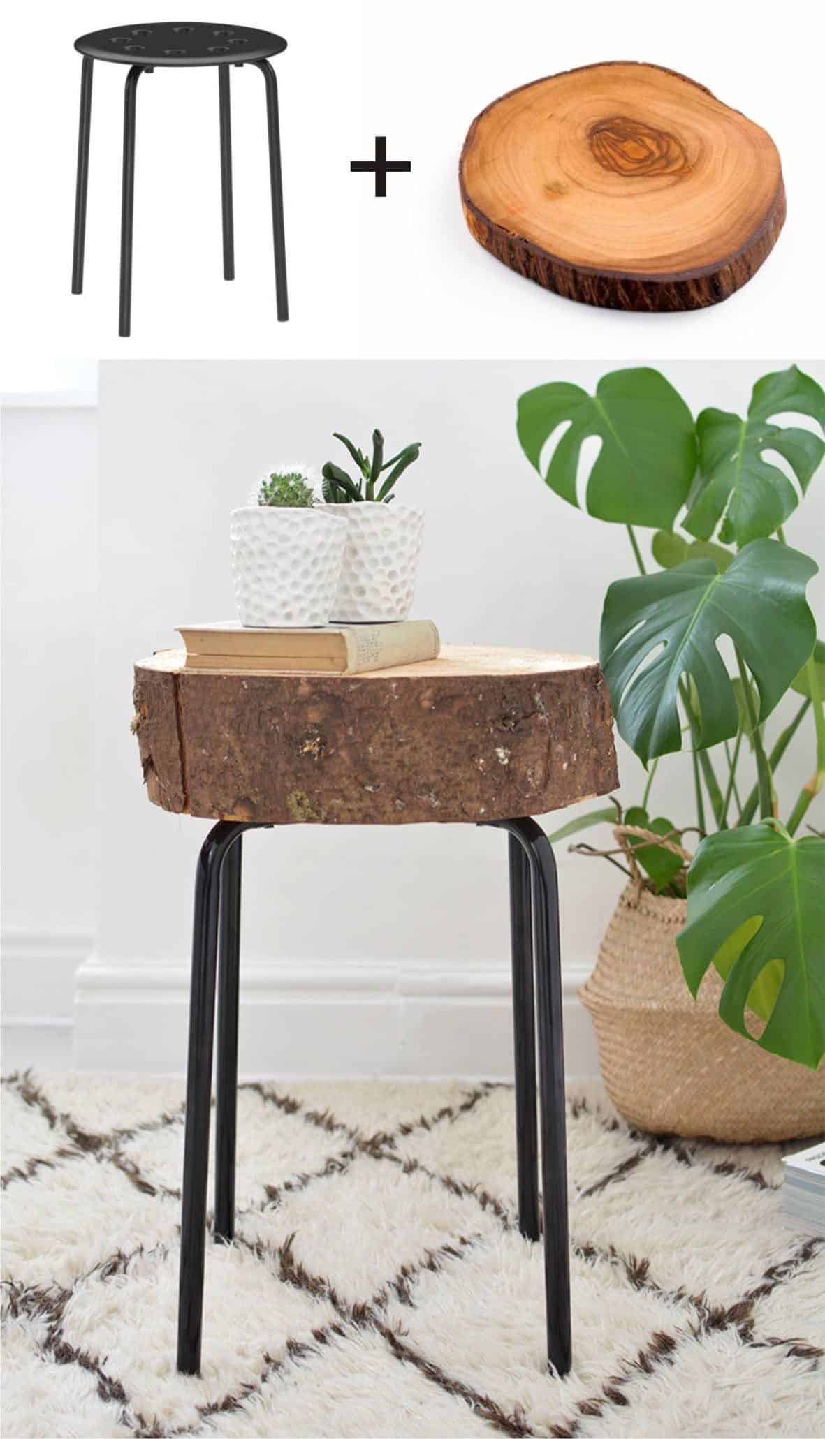 The IKEA-Round-Chair Side Table