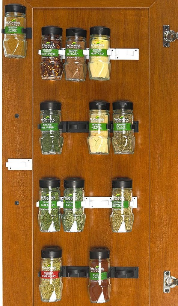 Clip-style Spice Holders