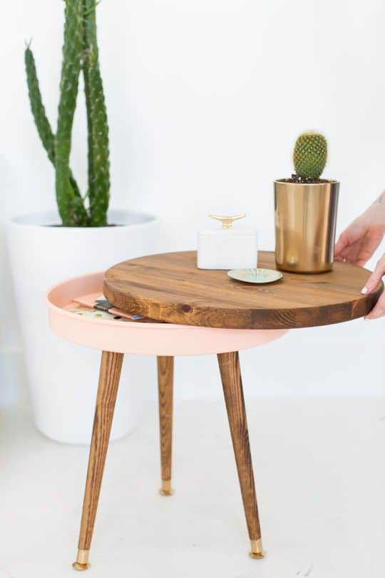 The Ultimate Chic Mid-Century Side Table