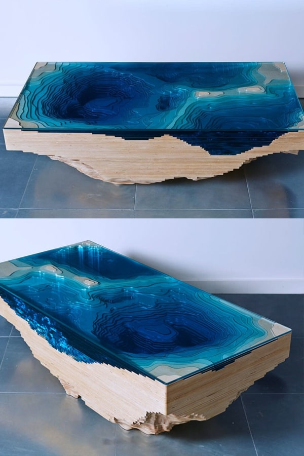 "3D ""Abyss"" Coffee Table"