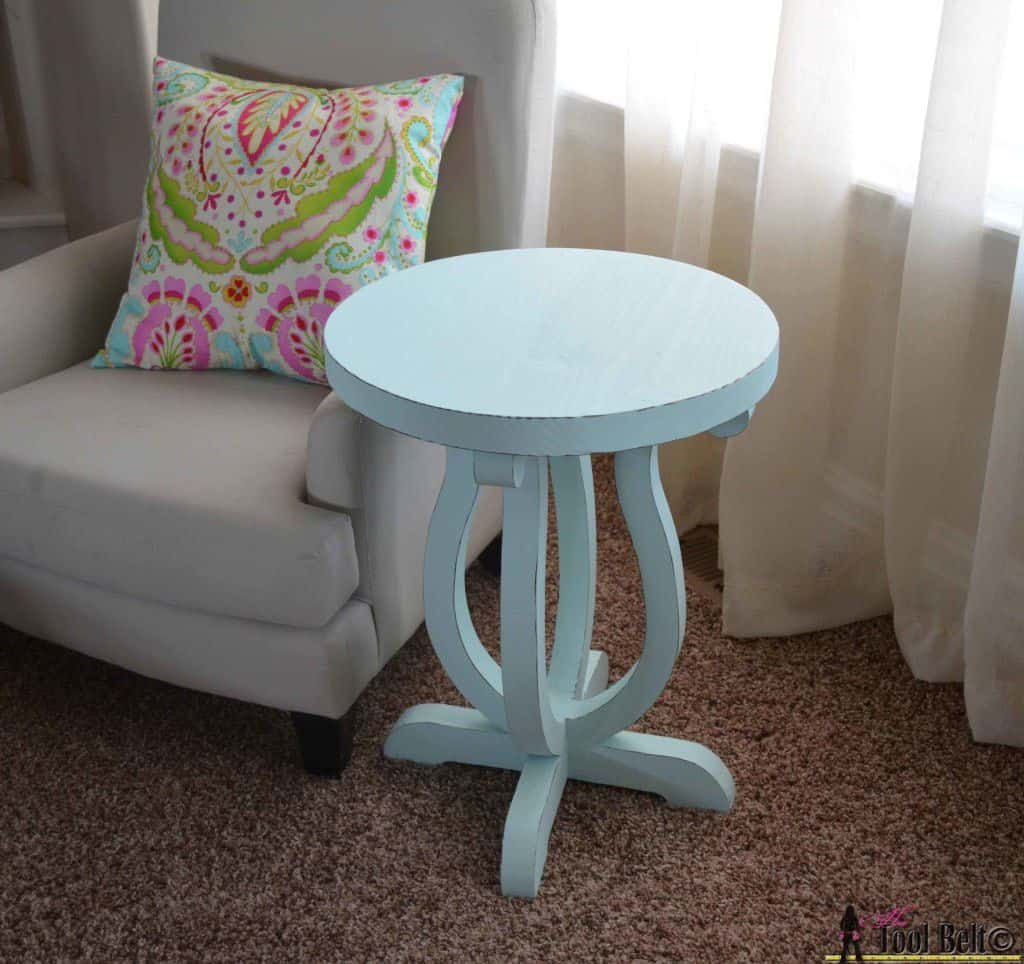 The Nautical Curvy Side Table