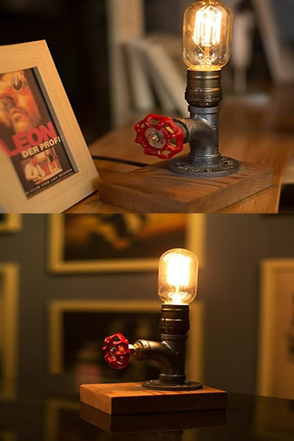 Dimmable Retro Industrial Lamp