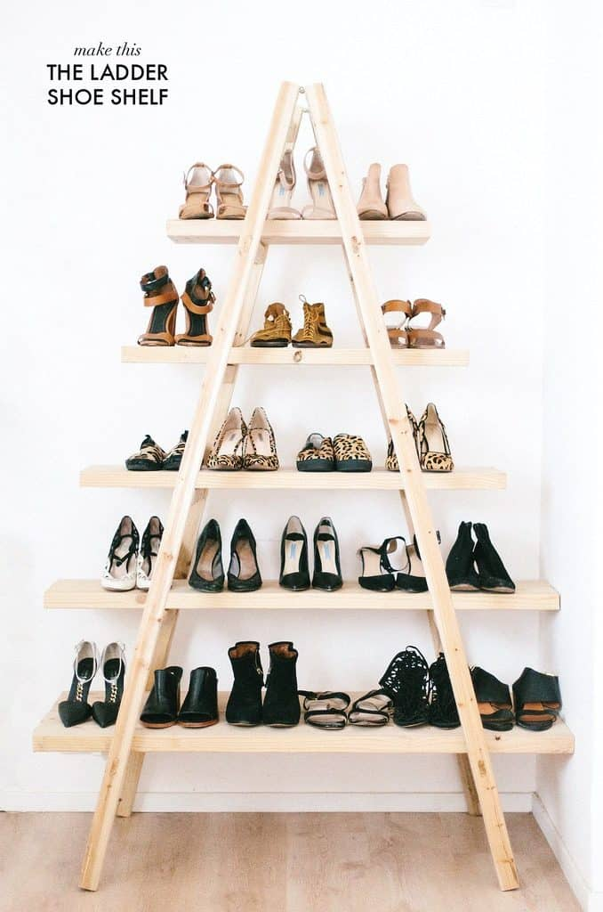 Easy Ladder Storage Space