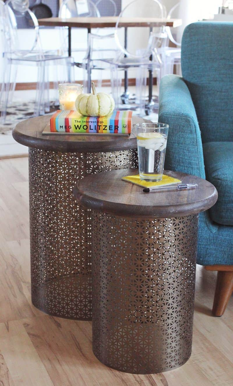 The DIY Elegant Side Table