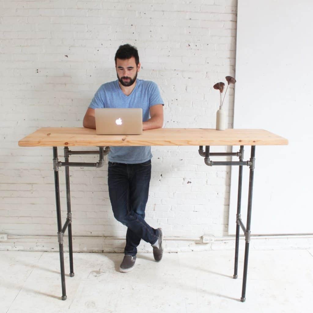 Plumber Pipe Desk