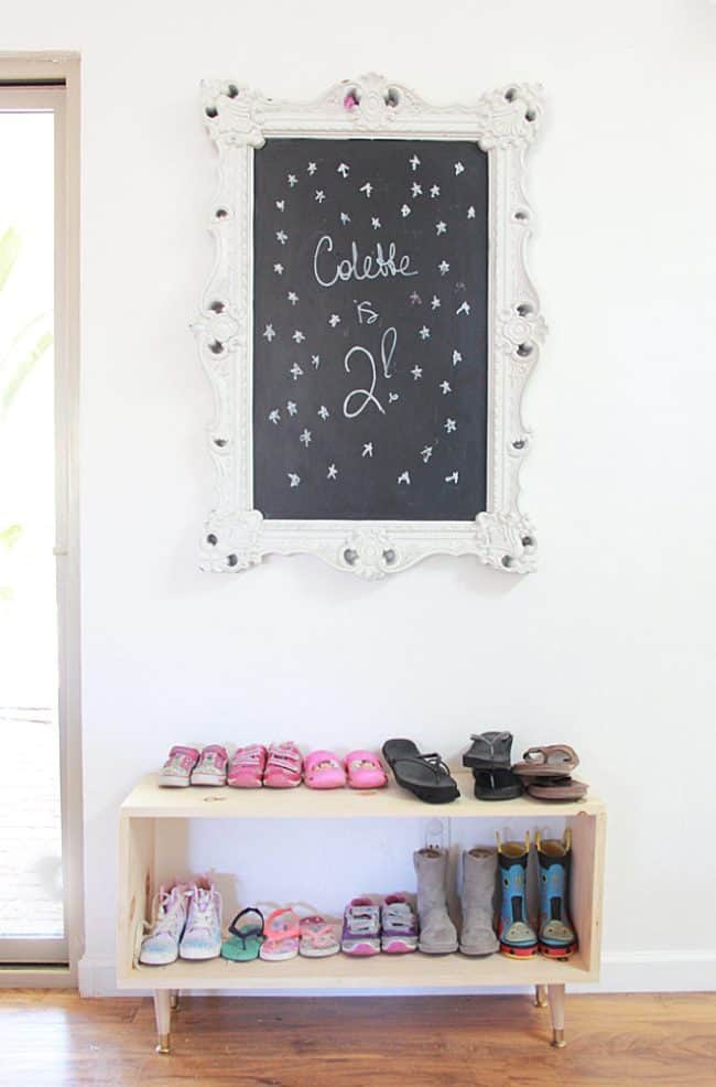 Simple Double Shoe Rack