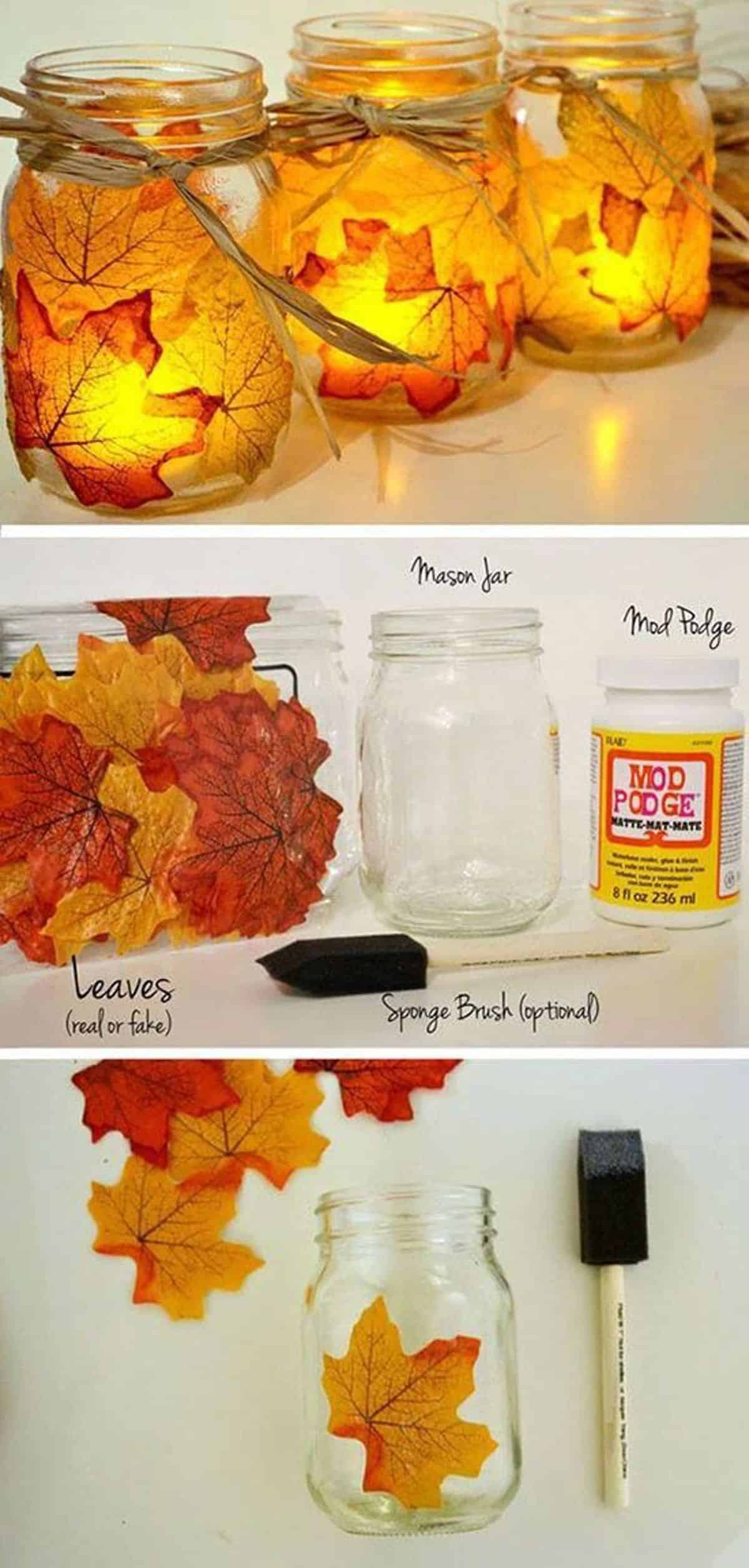 The Autumn Leaf Candle Holder