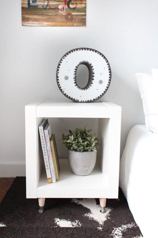 The White Hack Side Table
