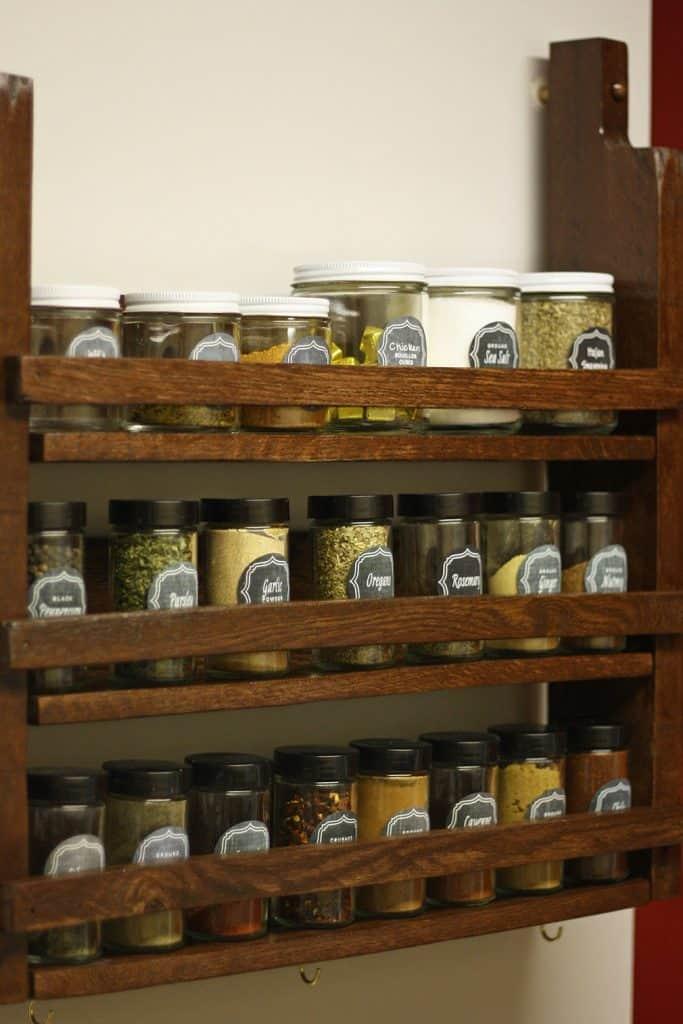 Rustic, Practical Spice Organizer
