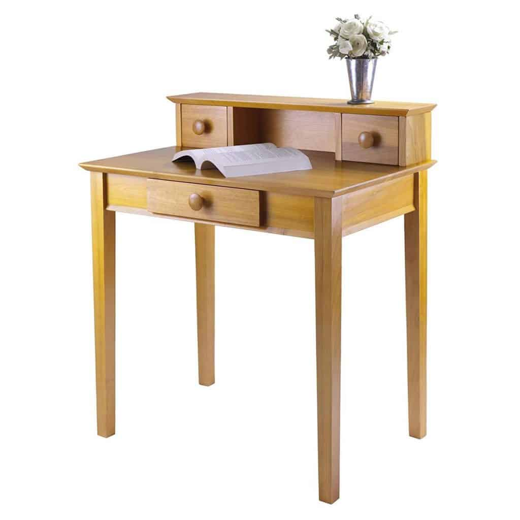 Get that Vintage Look with This Winsome Wood Desk