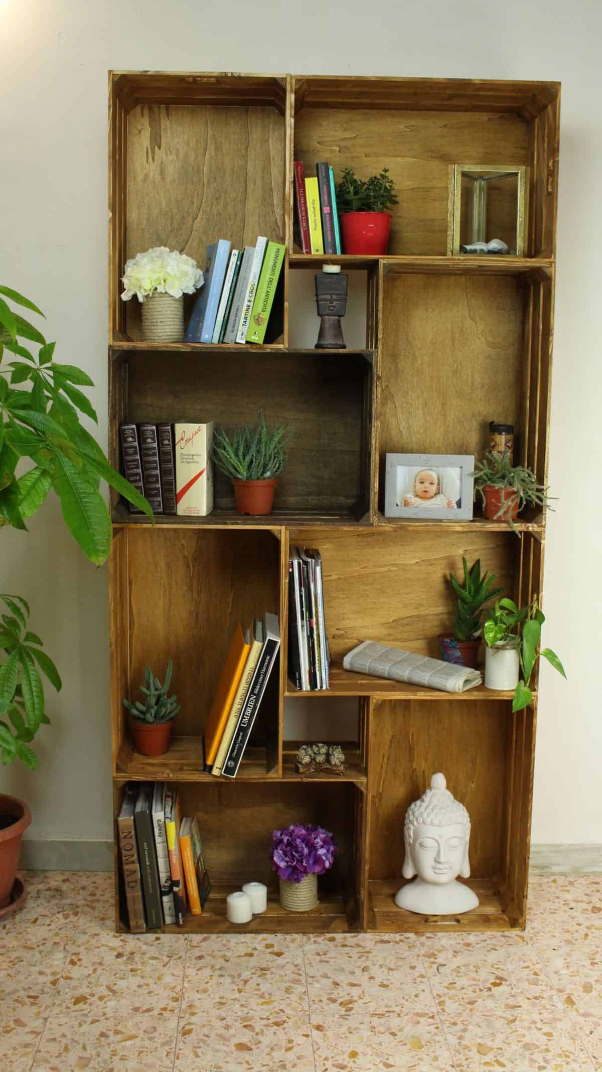 Simple Crate Shelf