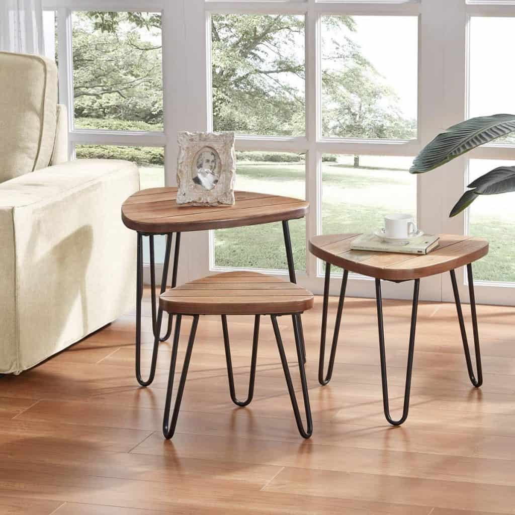 Three-level Nesting Tables