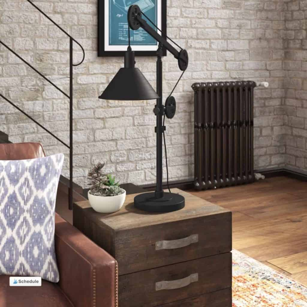 Carlisle Tall Desk Lamp