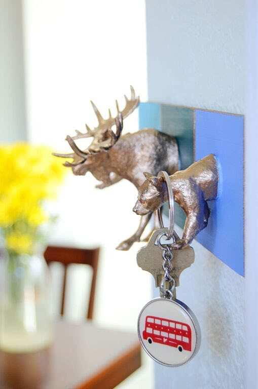 Key Holder from Painted Animal Toys