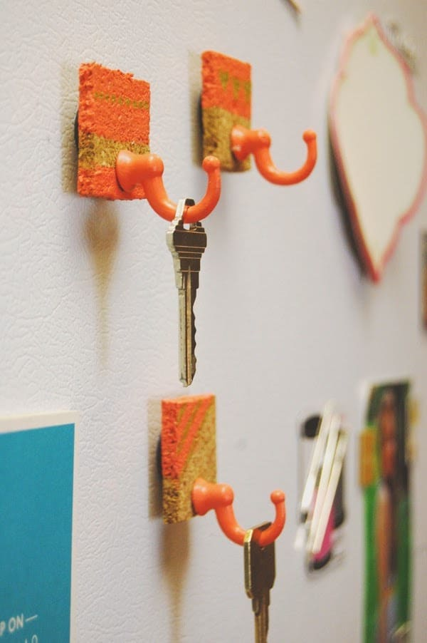 Fridge Magnet Key Holder