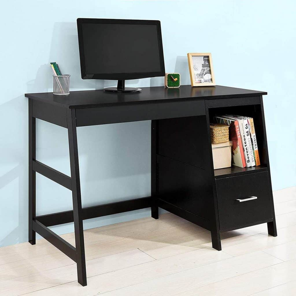 Haotian Wall Mounted Wood Desk
