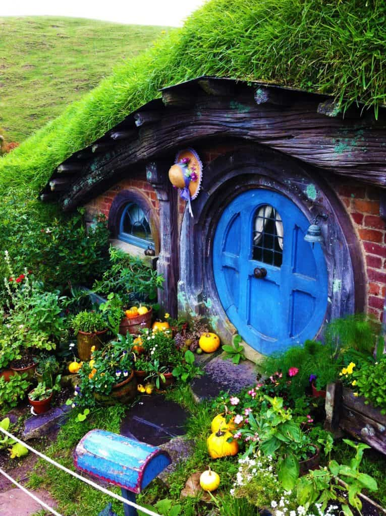 Hobbit Hole Garden House