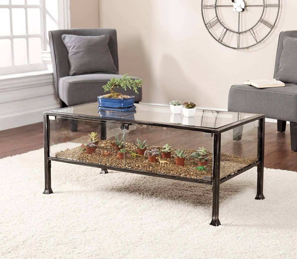 Terrarium Glass Table