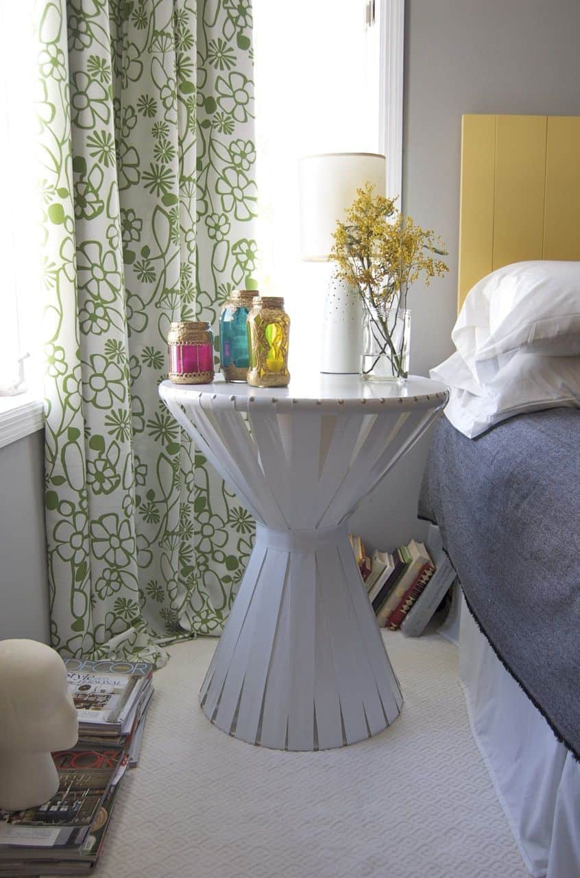 The Simple DIY Bedside Table