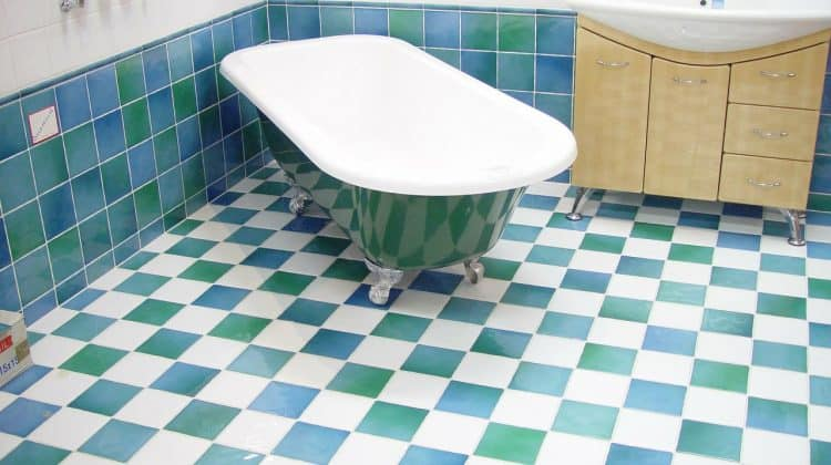 Types of Bathroom Flooring