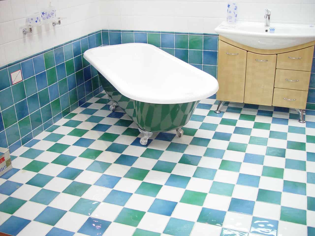 Types of Bathroom Flooring