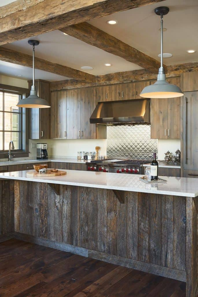 17 Rustic Kitchen Cabinets for Modern House Interiors