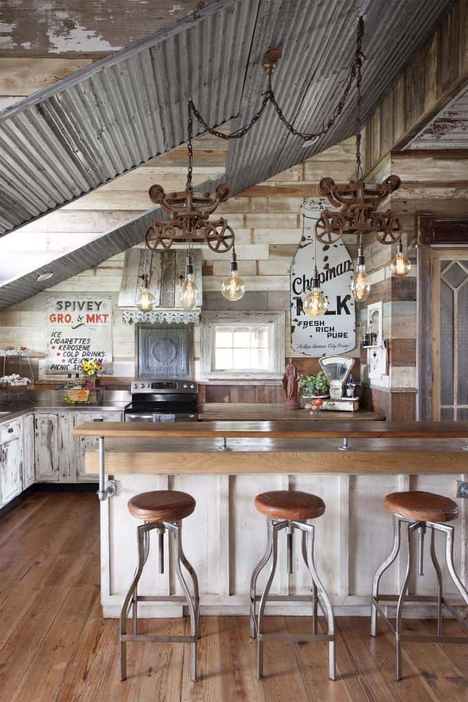 20 Pretty Farmhouse Kitchen Decor Ideas For Modern Homes